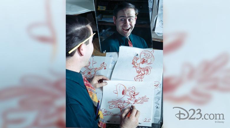 Ward Kimball animates Panchito