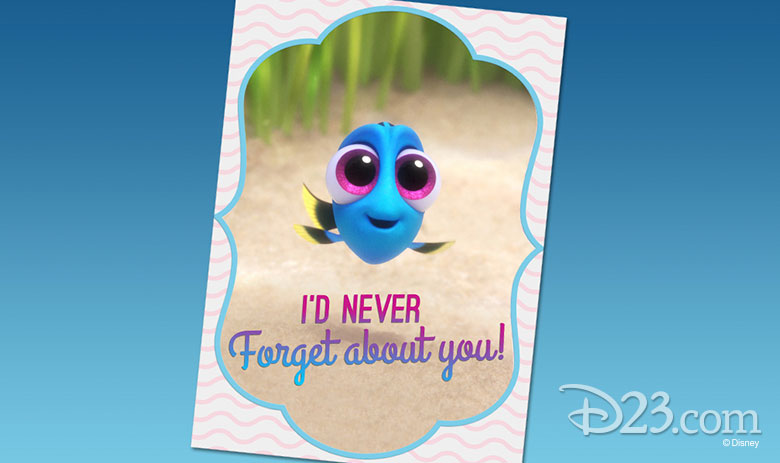 Dory Valentine's Day card