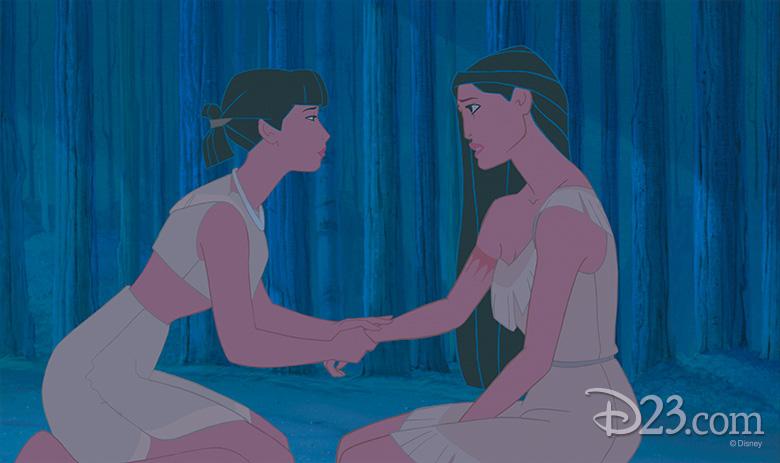 Nakoma and Pocahontas