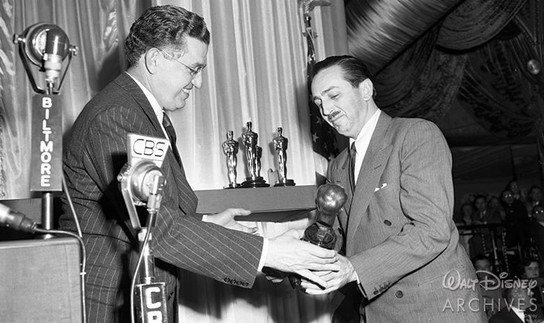 Irving Thalberg Memorial Award to Walt Disney