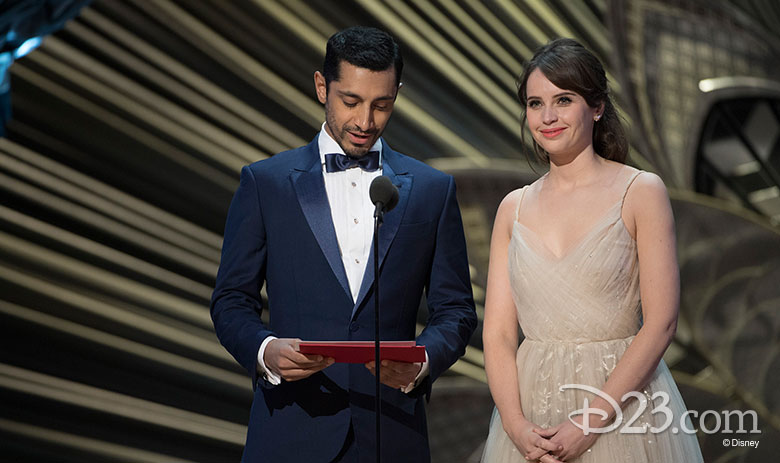 Felicity Jones and Riz Ahmed Take the Stage