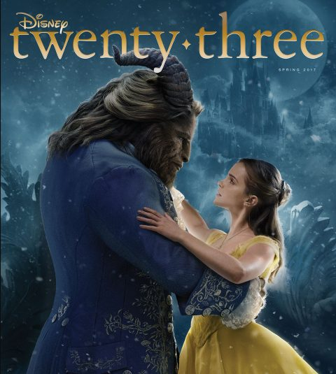 Disney twenty-three spring 2017 cover