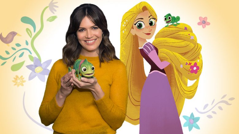 Mandy Moore and Rapunzel