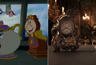 Beauty and the Beast animated and live action