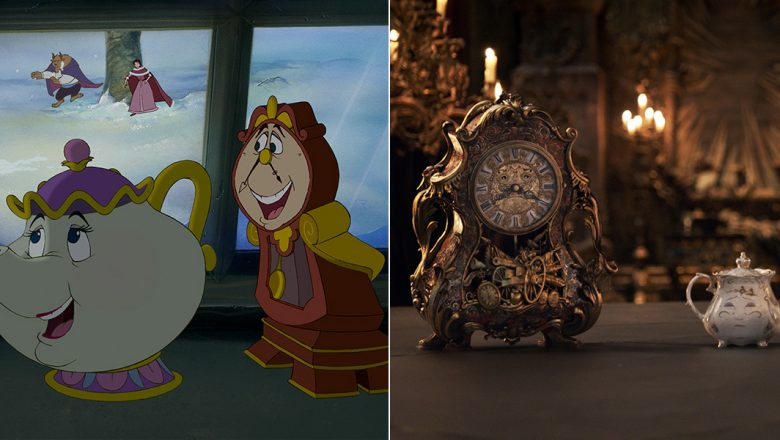 Then And Now The Enchanting Cast Of Magical Objects In Beauty And The Beast D23