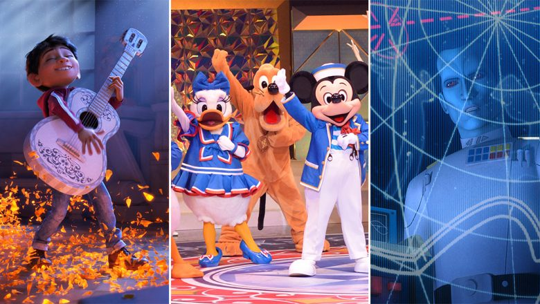 News Briefs - Coco, D23 Expo Japan, Star Wars Rebels