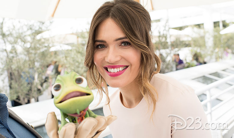 Mandy Moore and Pascal
