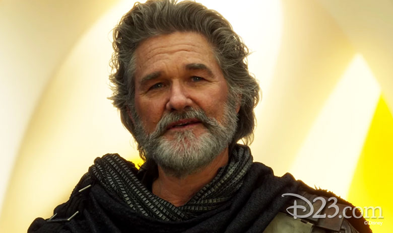 Kurt Russell as Ego in Guardians of the Galaxy Vol. 2