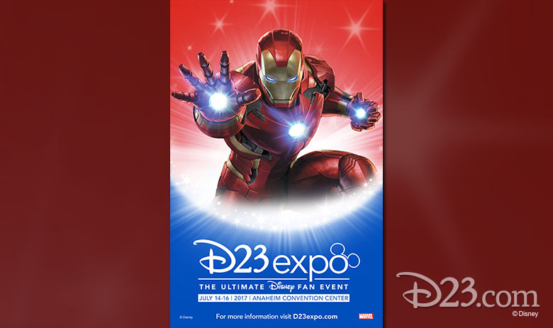 D23 Expo 2017 posters