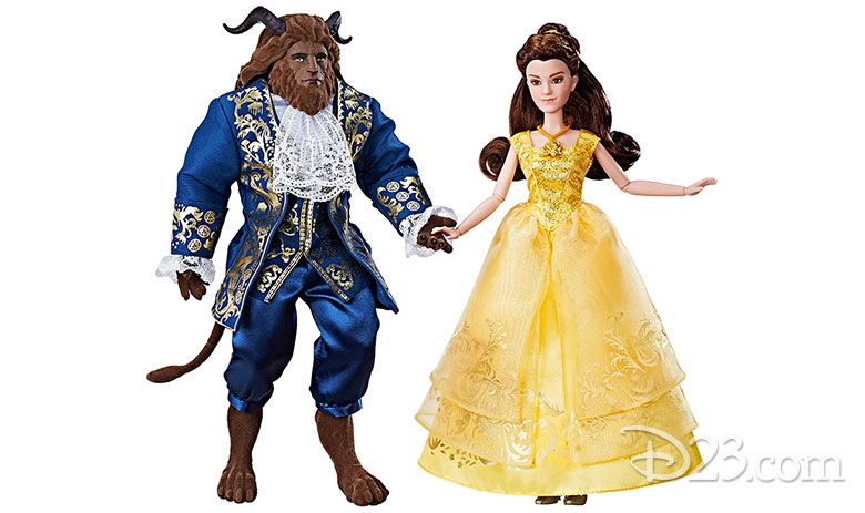 Beauty and the Beast international merchandise