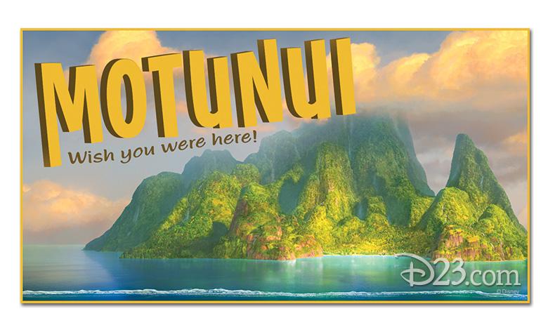 Motunui postcard