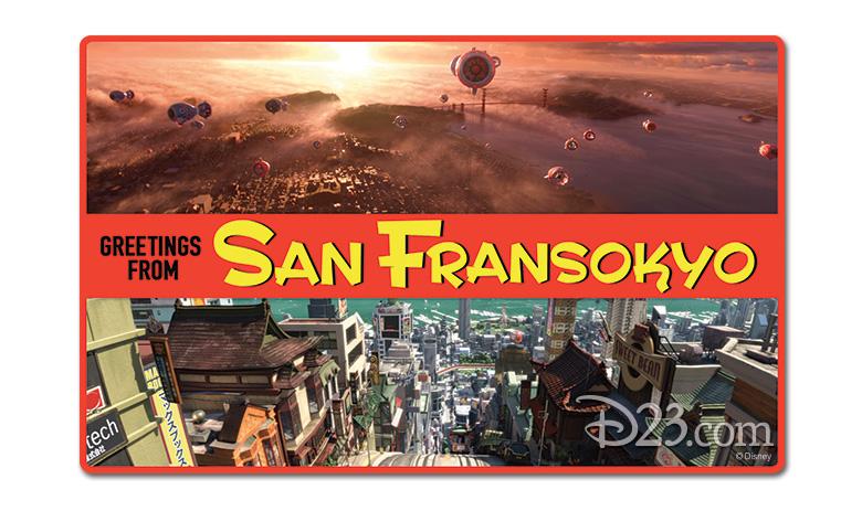 San Fransyokyo postcard