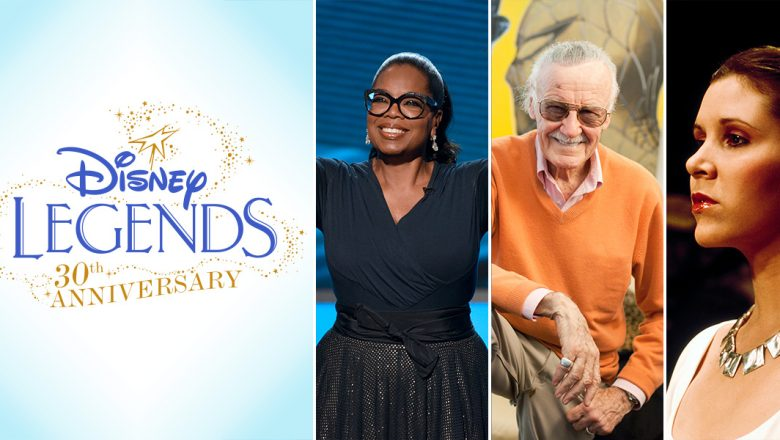Disney Legends for 2017
