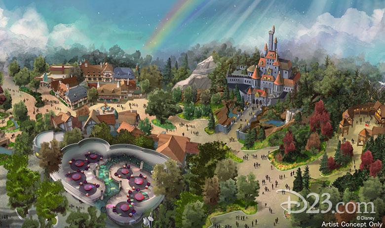 Tokyo Disneyland concept art