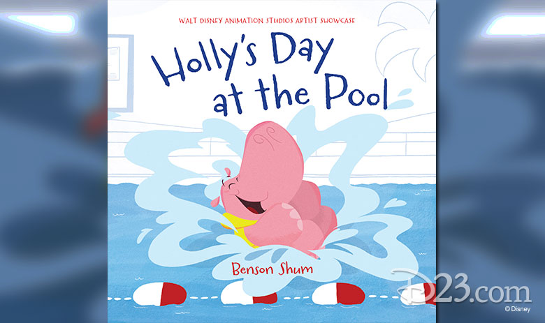 Holly's Day at the Pool book cover