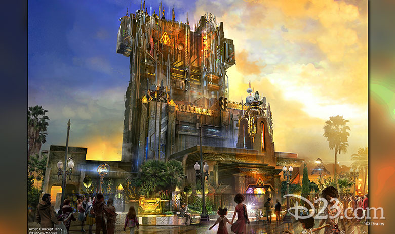 Guardians of the Galaxy: Mission BREAKOUT! concept art