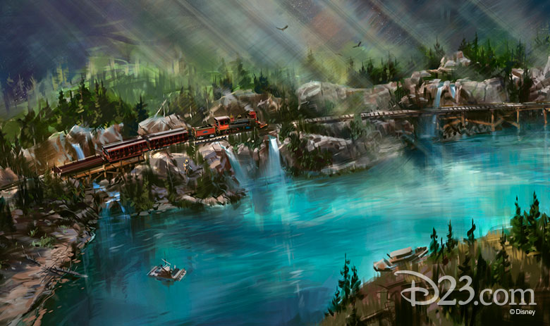 Rivers of America update concept art