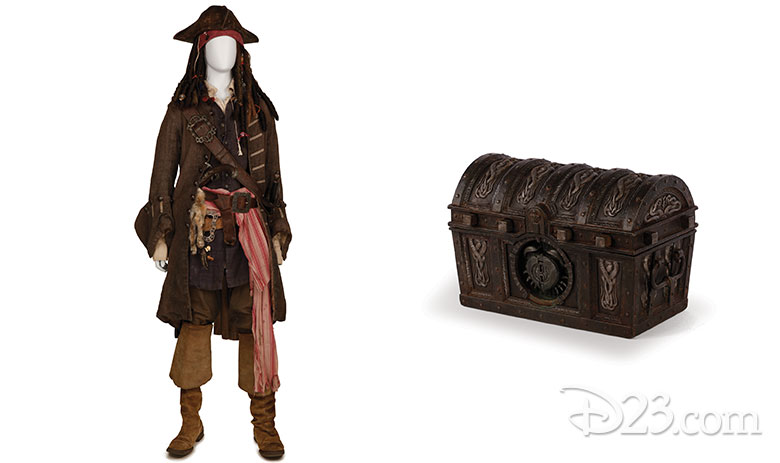 Pirates of the Caribbean props