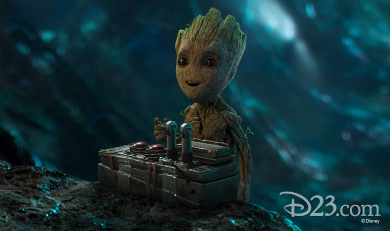 Baby Groot from Guardians of the Galaxy Vol. 2