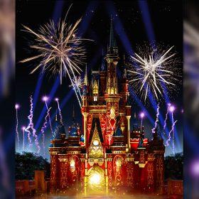 Happily Ever After fireworks render