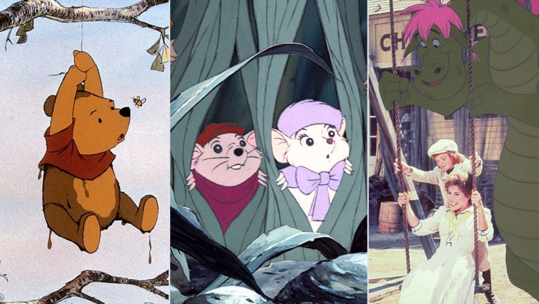 Winnie the Pooh, The Rescuers, and Pete's Dragon