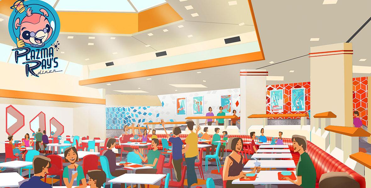 Plasma Ray's Diner