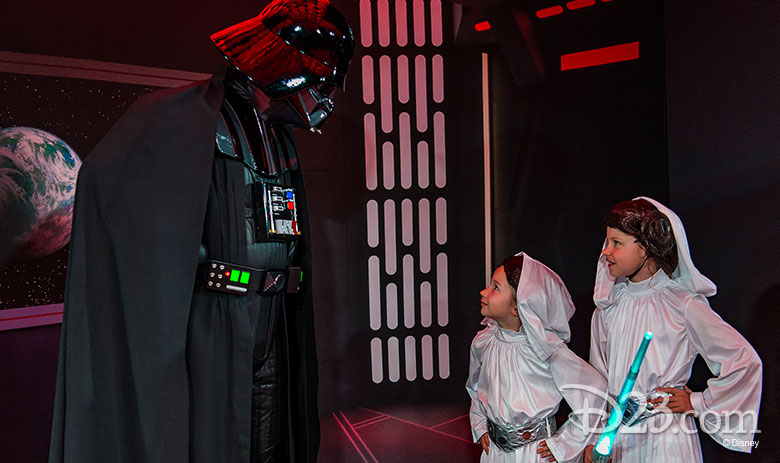 Darth Vader meet and greet