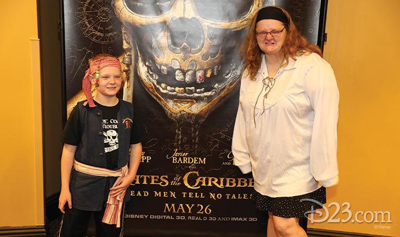 Pirates of the Caribbean screening