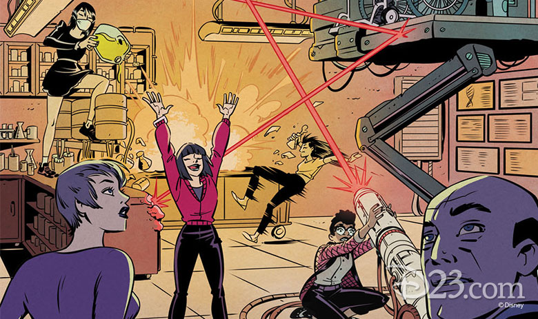 Unstoppable Wasp and the Agents of G.I.R.L.