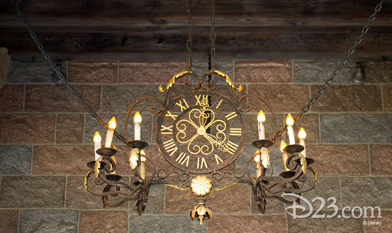 Sleeping Beauty Castle clock