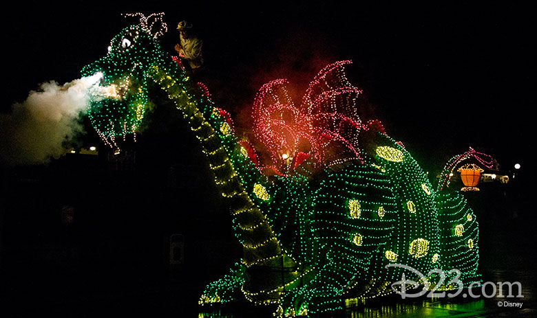 Main Street Electrical Parade Pete's Dragon float