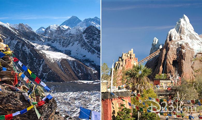Everest real vs Disney