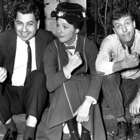 Richard Sherman, Julie Andrews, Dick Van Dyke, Robert Sherman