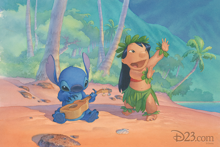 celebrate 15 years of lilo stitch with stunning production art