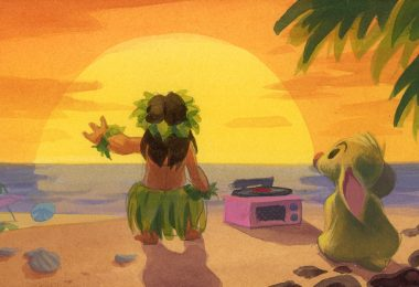 Lilo and Stitch Production art