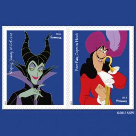 USPS Disney villain stamps