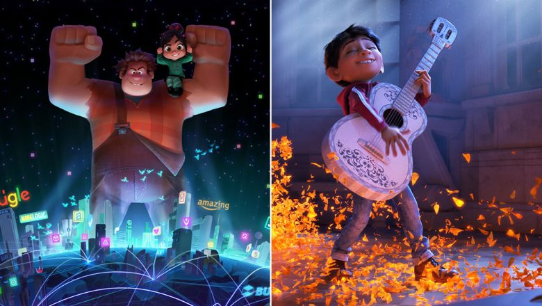 Wreck it Ralph and Coco