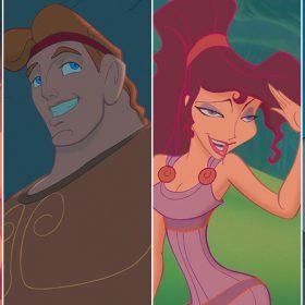 Phil, Hercules, Megara, and Hades