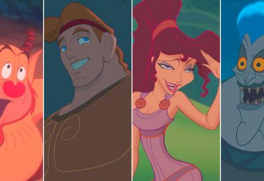 Phil, Hercules, Megara, and Hades