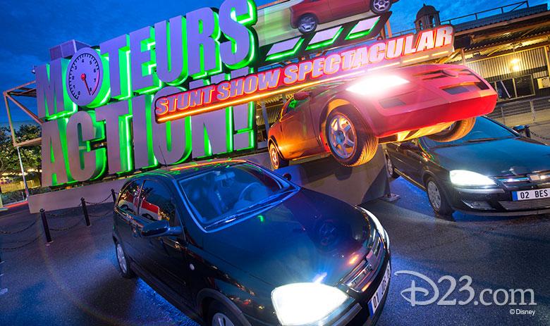 Moteurs… Action! Stunt Show Spectacular
