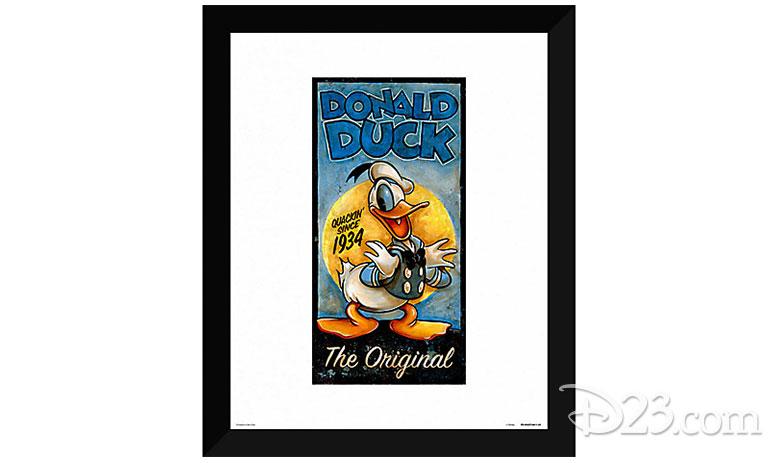 """""""Donald Duck the Original"""" Giclée by Darren Wilson"""