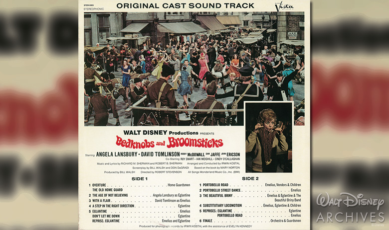 Bedknobs and Broomsticks soundtrack