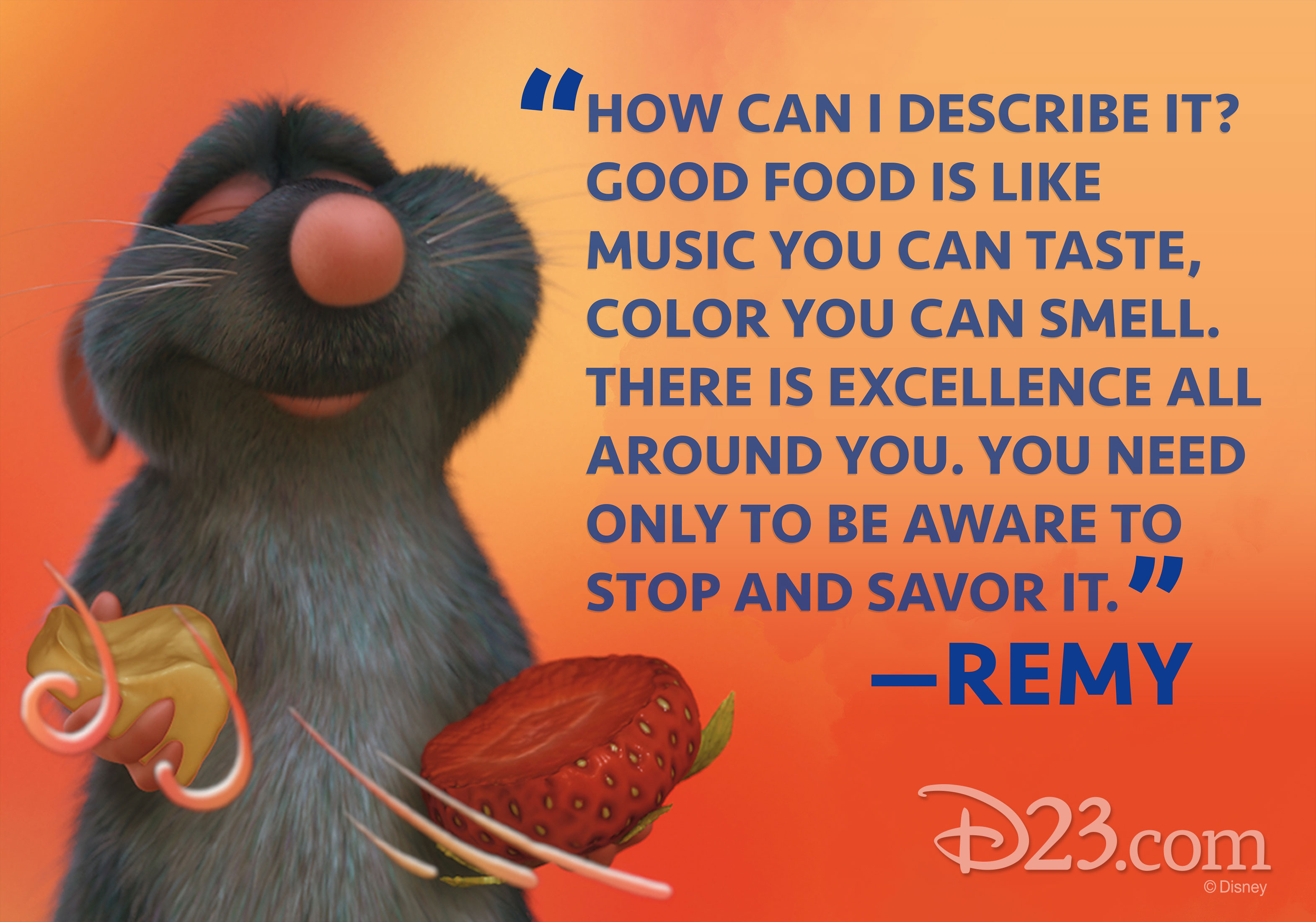 Ratatouille Quotes Anyone Can Cook with These Tips from Ratatouille   D23 Ratatouille Quotes