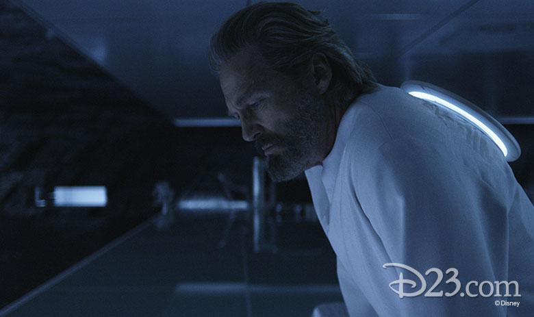 Jeff Bridges as Kevin Flynn in Tron: Legacy