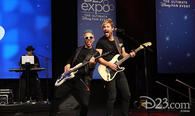 D23 Expo 2017 show floor - Center Stage