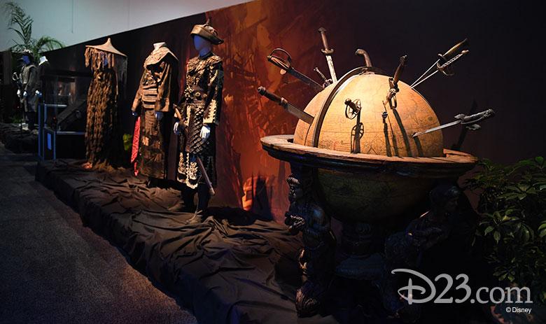 D23 Expo 2017 show floor - Walt Disney Archives exhibit