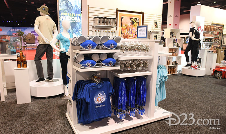 D23 Expo 2017 show floor - Disney Dream Store