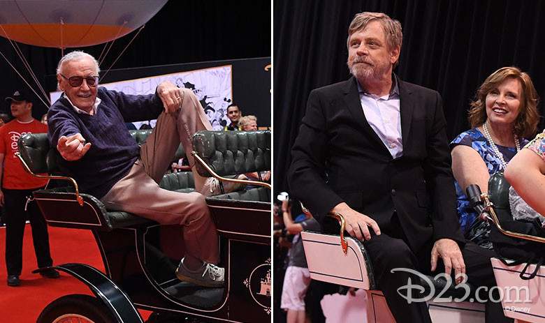Stan Lee and Mark Hamill
