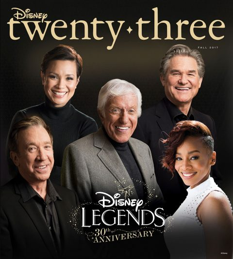 Fall 2017 Disney twenty-three cover