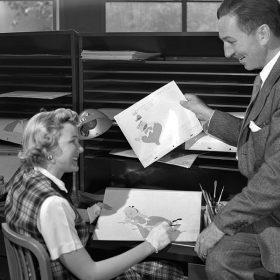 Ginni Mack and Walt Disney